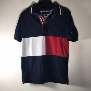 Tommy Hilfiger Polo Shirt Kids Boys S 6/7